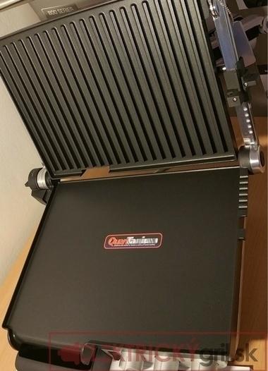 Rovná aj členitá platňa elektrického grilu Catler-GR8012