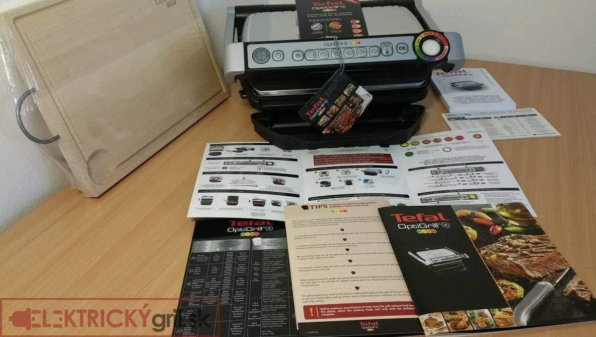 obsah balenia Tefal GC712+darček