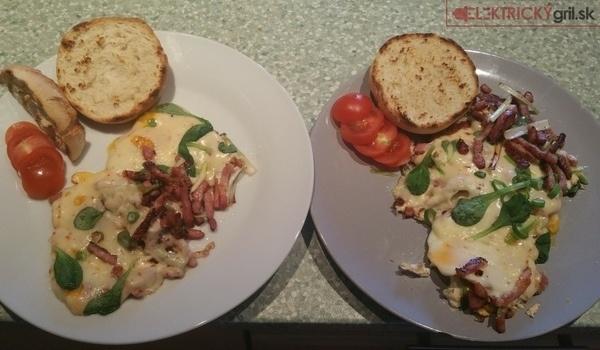 Poctivé raňajky naservírované