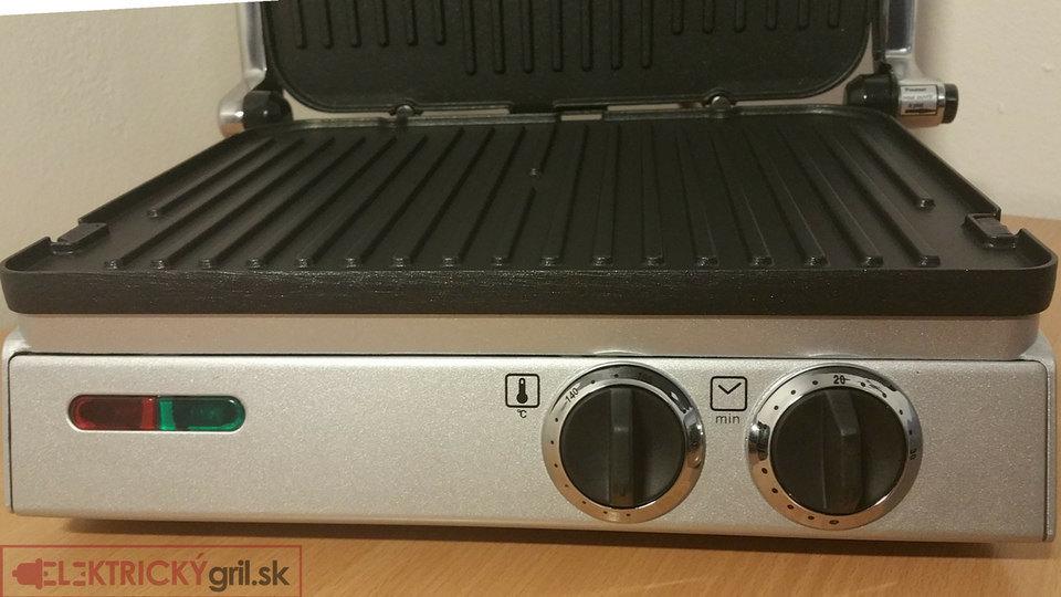 termostat-časovač a kontrolky
