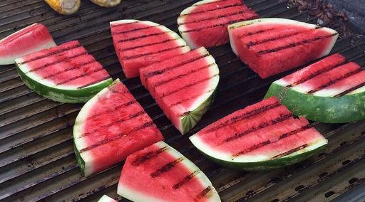 Grilovaný melón