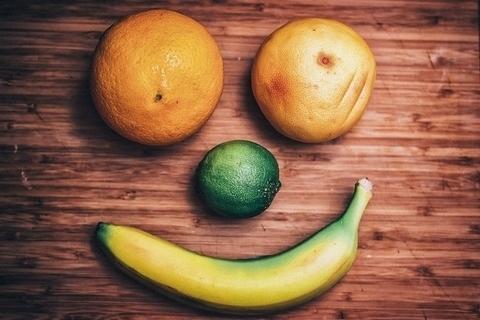 ovocie s úsmevom